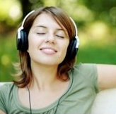 Feeling calm and relaxed with music